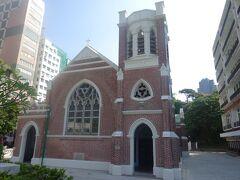 聖アンドリュース教会(1905年創建で煉瓦造りです。)