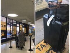 定刻通りにNYCのEWRに到着! マンハッタンへのアクセスが一番面倒な空港。 地下鉄とかないので。 ということでスーツケースをピックアップしたら そのままダイレクトにタクシー乗り場へ。 とても分かり易いインディケーションです。 スタッフに行先を告げると 料金が明記されたレシートをくれて それを持って指定された番号の乗り場で待機!