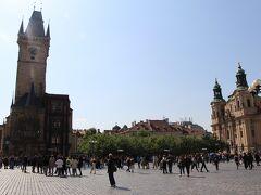 さて、旧市街広場を後にして、まだ行ってないハヴェルスカー市場やヴァーツラフ広場に行くとしよう。