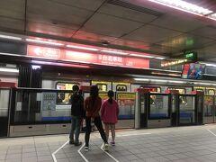 間違えようがなく台北駅に着きました。 1駅しか電車に乗っていない。。。