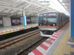 https://4travel.jp/travelogue/11556717 で浦安を散歩した後で、東京メトロ東西線に乗って東京方面へ戻ります
