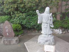 境内には福禄寿 深川七福神の一つとなっています