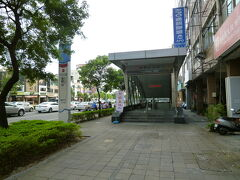 博愛路沿い後驛駅