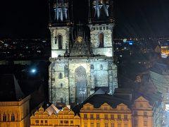 9時ごろ市庁舎の前を通りかかったら、まだ塔に登れるというので入場してみました(最終入場9:20、営業は10時まで)。昼間とはまた違った美しい景色を見ることができるのでオススメです。