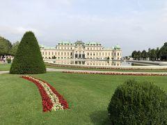 こちらは次に訪れたベルヴェデーレ宮殿。美しいバロック建築としてユネスコ世界遺産に登録されています。