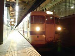 2019.10.14 熊本 熊本からは415系。