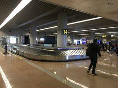 ターミナルビル到着はほぼ定時でした。