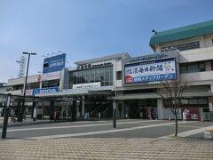 10:16 美ヶ原温泉から歩いて1時間。 松本駅に着きました。