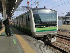 今回の酉は、この電車です。  ③横浜線:快速.桜木町行 八王子.14:50→菊名.15:31 [乗]JR東日本:クハE233-6223