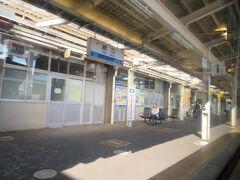鯖江駅10時2分着。 鯖江はメガネ産地として知られています。
