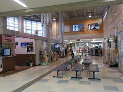 種子島空港には午後3時に到着です。