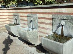 チェシマ (温泉水の汲み場)