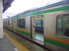 品川駅から 宇都宮行き電車に乗ります。