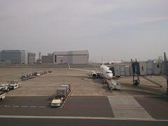 広島へはB737-800で向かいます。