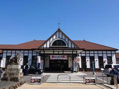 初めて降りたJR琴平駅を一枚