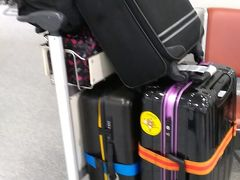 台北駅で預けてから、無事に再会できた荷物たち。 今回は一番大きなケースを、空港から自宅まで宅配。 キャンペーン中で1個500円でした。 https://www.jcb.co.jp/campaign/takuhai.html
