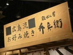 ランチは広島流お好み焼き!