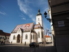 こちらは可愛い教会です。 中には入れず。