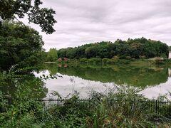 あっ、湖が! やっぱり、ここはフィンランド!? …友人に、「いや、フィンランドではない」とクールに返されました。  1941年につくられた「宮沢湖」という人造湖だそう。 ムーミンバレーパークの候補地は他にもありましたが、こちらの湖が決め手になったとか。