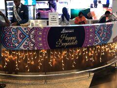 ◆クアラルンプール国際空港(ターミナル2) 日本帰国便の搭乗前に。