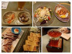 夕食は新潟名物っぽいものを頂きました~。 やはり新潟酒を頂かないと~ですね!