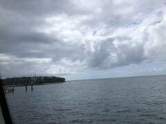 50分でグリーン島に。ゆれずに、酔わないで着きました。