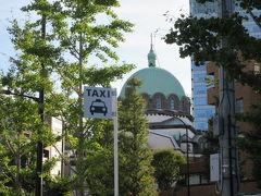 【ニコライ堂】ロシア人修道司祭ニコライの名前に由来。 正式名称;東京復活大聖堂 1884年着工 1891年竣工 1829年修復 1962年国の重要文化財
