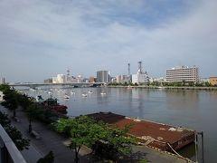 柳都大橋です。私がこの地を離れてから創られた橋なので思い入れは全くありません。便利になったと地元民は言います。