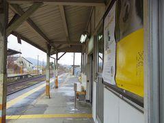 東津山駅で途中下車したのは私一人だけでした。そして駅周辺を歩きました。
