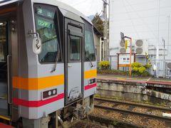 東津山から智頭の区間が初乗車区間でした。 表紙の写真もこの駅で撮った1枚です。