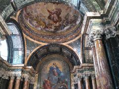 サンタマリアデルポポロ教会です。 天井がや絵画が素晴らしい教会です。