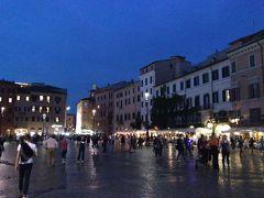 続いては、ナヴォーナ広場です。 こちらも映画の舞台になりましたね。