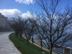 ハノイに帰るバスが迎えに来るまでフリー。 サパ湖畔をお散歩。