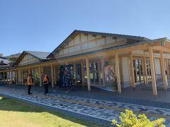 武田神社の前におる甲府市武田氏館跡歴史館(信玄ミュージアム)。今年の4月にオープンした新しい歴史を紹介するガイダンス施設。案内の女の人から甲府観光の情報を親切丁寧に教えてくれた。