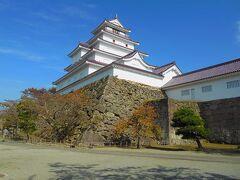 鶴ヶ城天守閣です。