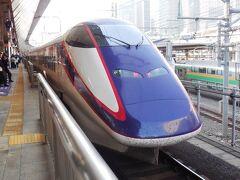 今回、往路はJR、復路は東武という旅程をとった。 東京駅朝8時台、東北新幹線つばさ号で宇都宮へ。