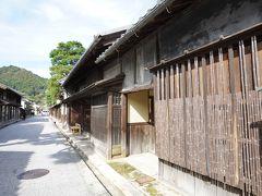 銀行に立ち寄った後、旧西川家住宅前の通りを通って、最初の神社の方へ。