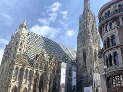 シュテファン大聖堂! かなり街中にあります。