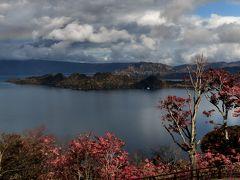 十和田湖展望台より十和田湖を望む
