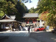 大猷院。 日光山内でも一番奥まったところにある。拝観料は550円。 徳川家光の墓所、ここまで来る観光客は少なく閑静。
