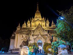 最初にやって来たのは、バガンで2番目に高いゴドーパリィン寺院。高さ55m。