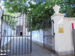 書かれていたランゲ・ニーウ通り側に行ってみると門が開いていました。 15年前に来た時も確かここから入ったと記憶が甦ってきました。