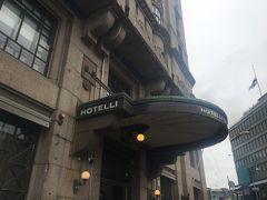 ホテルに戻りチェックイン。今回はセウラフオネです。VRの駅前で立地がとても良いクラシカルなホテルです。今回は立地条件で選択しました。
