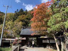 紅葉がきれいな長泉寺。