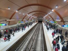 30分くらいで市内の中心部にあるセルディカ駅に到着しました。