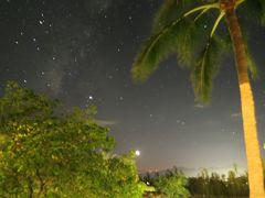 ホテルではサウンドヒーリングのイベントが行われていたので途中から参加しました。夜は星がきれいです。
