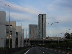 10月20日(日) この日は特に用事がなかったので、何気にドライブを~と・・笑 朝7時頃、千里中央駅付近を通過します・・