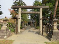 上杉鷹山を祀っている松岬神社。