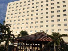 アートホテルの外観です。 到着が遅かったので、こちらは翌日の朝の写真です。