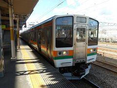 高崎、新前橋と乗り継いで、上越線で沼田を目指す。